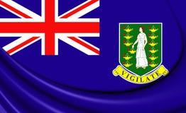 Bandera de British Virgin Islands Foto de archivo