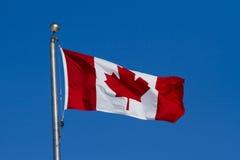 Bandera de Canadá Foto de archivo libre de regalías