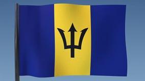 Bandera de colocación de Barbados libre illustration