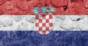 La bandera de croacia europa imagen de archivo imagen de croatian croatia 38482081 - Baneras de piedra ...