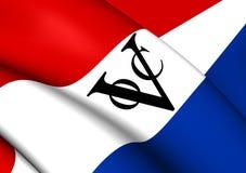 Bandera de Dutch East la India Company ilustración del vector