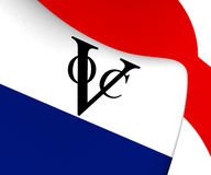 Bandera de Dutch East la India Company stock de ilustración