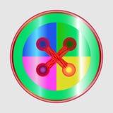 Bandera de Emo Imagen de archivo libre de regalías