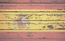 Bandera de España Foto de archivo libre de regalías