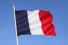 Bandera de Francia - Europa Imagen de archivo