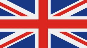 Bandera de Gran Bretaña, Reino Unido Fotos de archivo