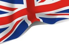 Bandera de Gran Bretaña, Reino Unido Fotografía de archivo libre de regalías