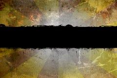 Bandera de Grunge Imagen de archivo