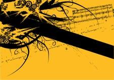 Bandera de Grunge Fotografía de archivo libre de regalías