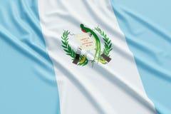Bandera de Guatemala Foto de archivo libre de regalías