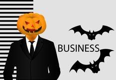 Bandera de Halloween para el negocio Fotos de archivo libres de regalías