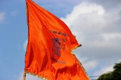 Bandera de Hanuman imagen de archivo libre de regalías
