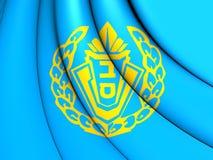 Bandera de Israel Prison Service Imágenes de archivo libres de regalías