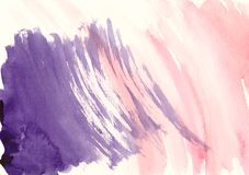 Bandera de la acuarela de la salpicadura para el diseño Imágenes de archivo libres de regalías