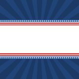 Bandera de la bandera de los E.E.U.U. - ejemplo Fotos de archivo libres de regalías