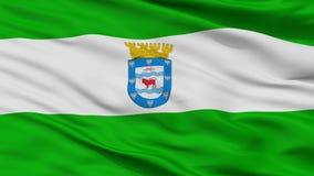 Bandera de la ciudad de Los Ángeles, Chile, opinión del primer ilustración del vector