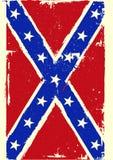 Bandera de la confederación Imagenes de archivo