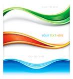 Bandera de la decoración del web Fotos de archivo libres de regalías
