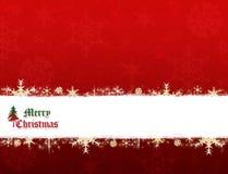 Bandera de la Feliz Navidad Fotografía de archivo libre de regalías