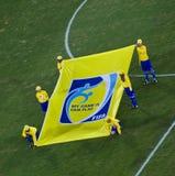 Bandera de la FIFA - mensaje Fotos de archivo