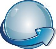 Bandera de la flecha Imagen de archivo libre de regalías