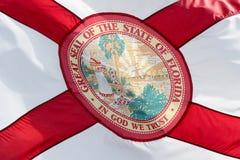 Bandera de la Florida Imagen de archivo