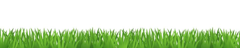 Bandera de la hierba, prado de mirada realista, modelo de repetición inconsútil
