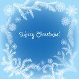 Bandera de la Navidad, plantilla Imágenes de archivo libres de regalías