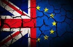 Bandera de la oscuridad de Reino Unido Foto de archivo