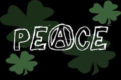 Bandera de la paz stock de ilustración