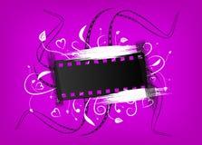 Bandera de la película Foto de archivo libre de regalías