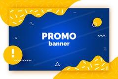 Bandera de la promoción de la web en venta, oferta, anuncio Fondo de moda del vector, aviador, cartel, página, cubierta con el ex libre illustration