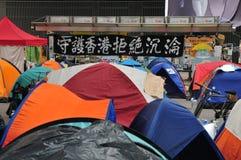 Bandera de la protesta Imagenes de archivo