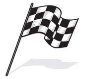 Bandera de la raza Imagen de archivo libre de regalías
