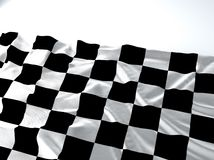 Bandera de la raza que agita Imagen de archivo libre de regalías