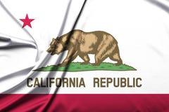 Bandera de la Rep?blica de California imagen de archivo