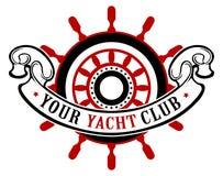 Bandera de la rueda de la nave Imágenes de archivo libres de regalías