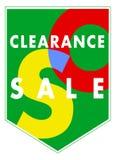Bandera de la separación de las ventas ilustración del vector