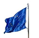 Bandera de la unión europea Imagen de archivo libre de regalías