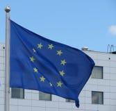 Bandera de la unión europea (UE) Imagenes de archivo