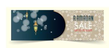 Bandera de la venta del Ramadán libre illustration