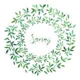 Bandera de la venta de la primavera, plantilla del cartel con las flores de la primavera foto de archivo libre de regalías