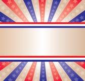 Bandera de las estrellas y de las rayas fotos de archivo