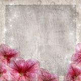 Bandera de las flores Background imagen de archivo