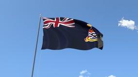 Bandera de las Islas Caimán ilustración del vector
