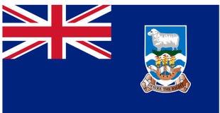 Bandera de las islas de Fakland libre illustration