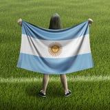 Bandera de las mujeres y de la Argentina libre illustration