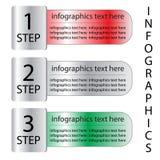 Bandera de las opciones de Infographics Fotografía de archivo libre de regalías