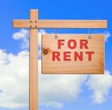 Bandera de las propiedades inmobiliarias Foto de archivo libre de regalías