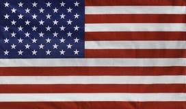 Bandera de los E.E.U.U. Imagen de archivo libre de regalías
